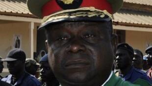 António Indjai, chefe de Estado Maior das Forças Armadas da Guiné-Bissau 15/01/12