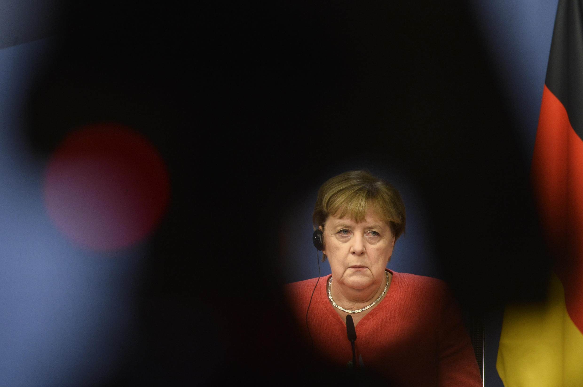 A pastor's daughter who grew up behind the Iron Curtain in the communist German Democratic Republic, Angela Merkel, 66, said the coronavirus lockdowns caused her to reflect a lot on her childhood and youth