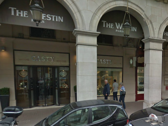 The Jewellery Casty near Paris's Place Vendôme was robbed in 2013