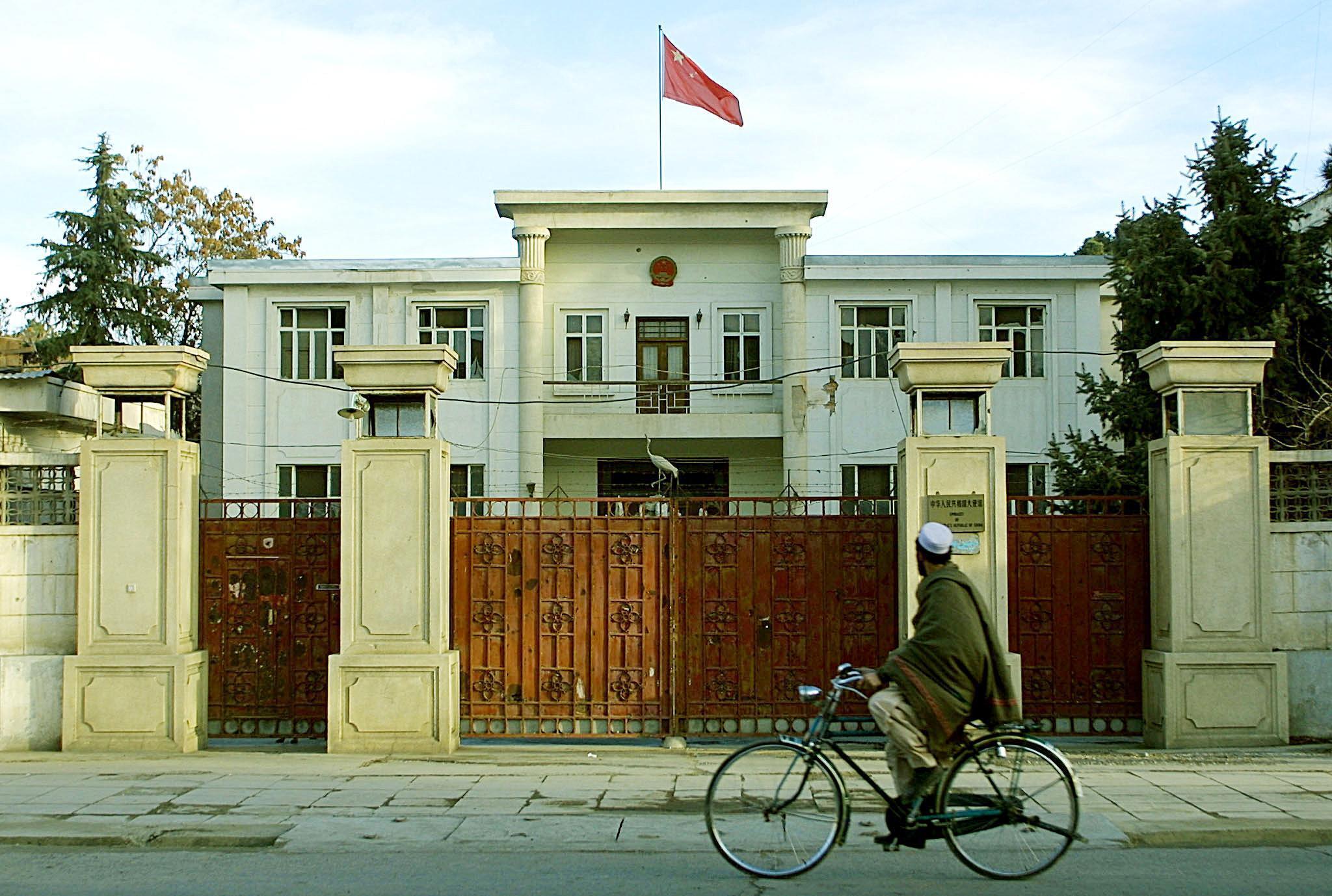 ambassade chine kaboul afghanistan