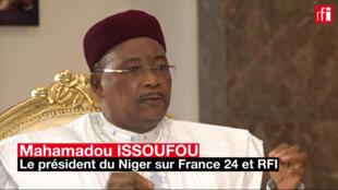 Mahamadou Issoufou, président du Niger.