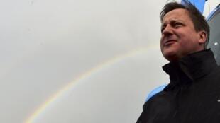 David Cameron en Devon, el 5 de mayo de 2015.