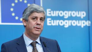 Mário Centeno: de ministro das Finanças de Portugal a presidente do Eurogrupo.