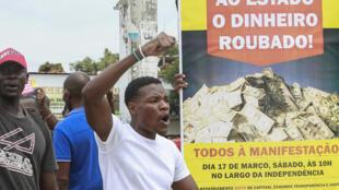 Protesto em Angola contra a amnistia de repatriamento de capitais