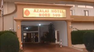 Fachada do hotel onde se localiza a missão da União Europeia no Mali.