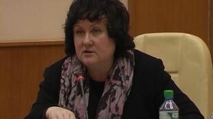 Надежда Ажгихина, секретарь Союза журналистов России