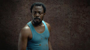 Fargass Assandé dans « L'œil du cyclone » de Sékou Traoré.