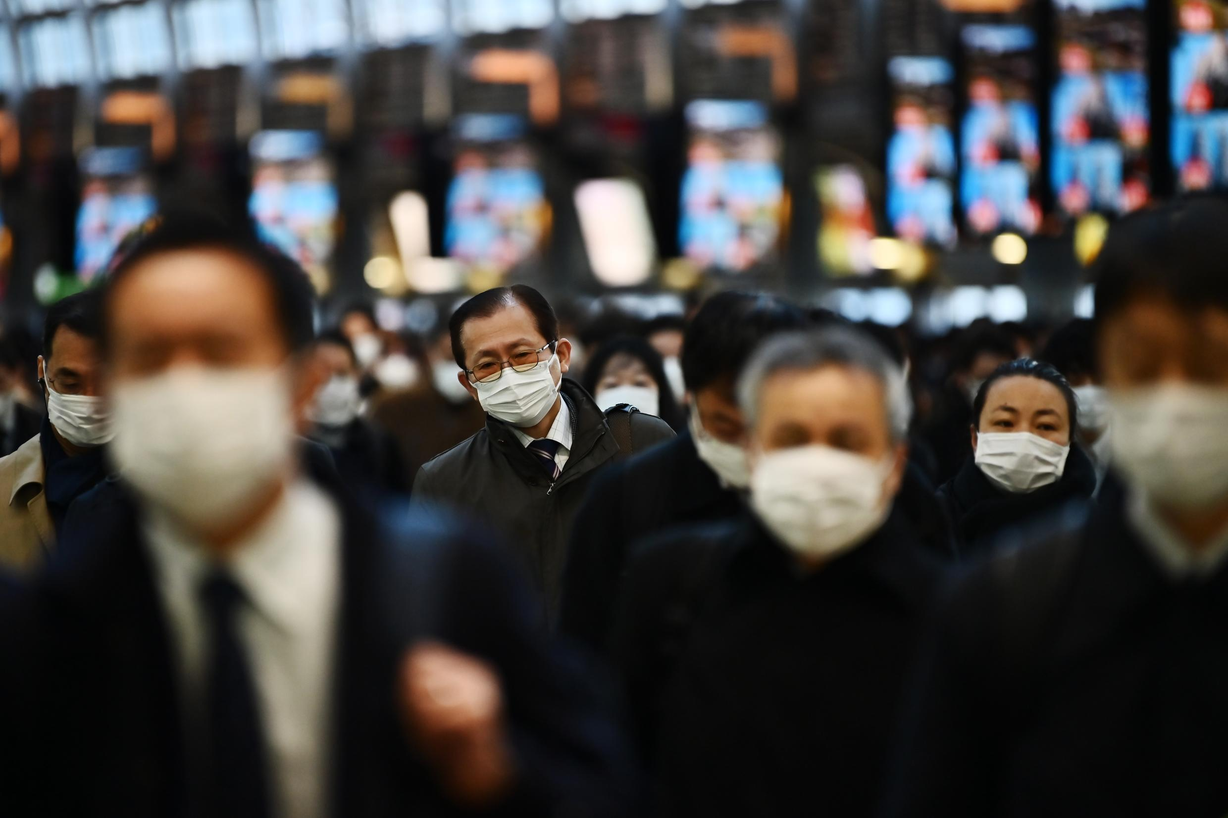 Japan's government has struggled to induce firms to offer teleworking, but the coronavirus epidemic means many are now experimenting with working from home