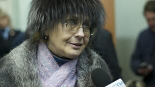 Наталья Сергеевна Алехина на заседании суда в Березниках 16/01/2013