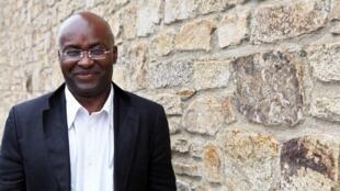 Achille Mbembé le 12 juin 2011 à Saint-Malo, Bretagne, ouest de la France, lors de la 22e édition du festival de littérature «Étonnants Voyageurs».