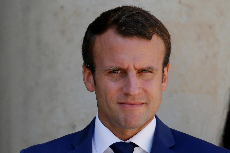 Popularidade de Emmanuel Macron caiu 10 pontos percentuais