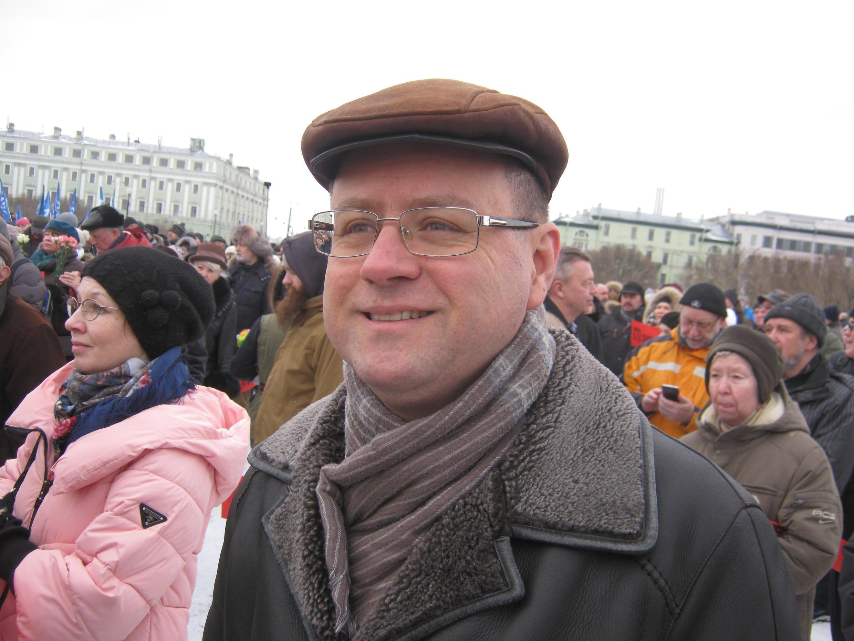 Александр Кобринский, член федерального и регионального политбюро партии «Яблоко»