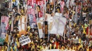 香港要求民主選舉