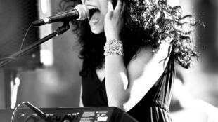 La cantante Katia de la Cruz.