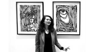 Orient hebdo 20032021 - Iran -  Ameneh Moayedi, artiste iranienne à Paris