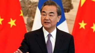 Wang Yi, ministro dos negócios estrangeiros da China