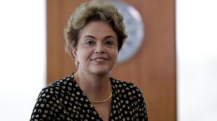 Dilma, após reunião com o secretário-geral da OEA, Luis Almagro.10. de Maio 2016
