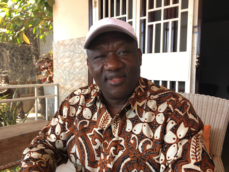 Sierra Leone presidential aspirant Musa Tarawally of the Citizens Democratic Party