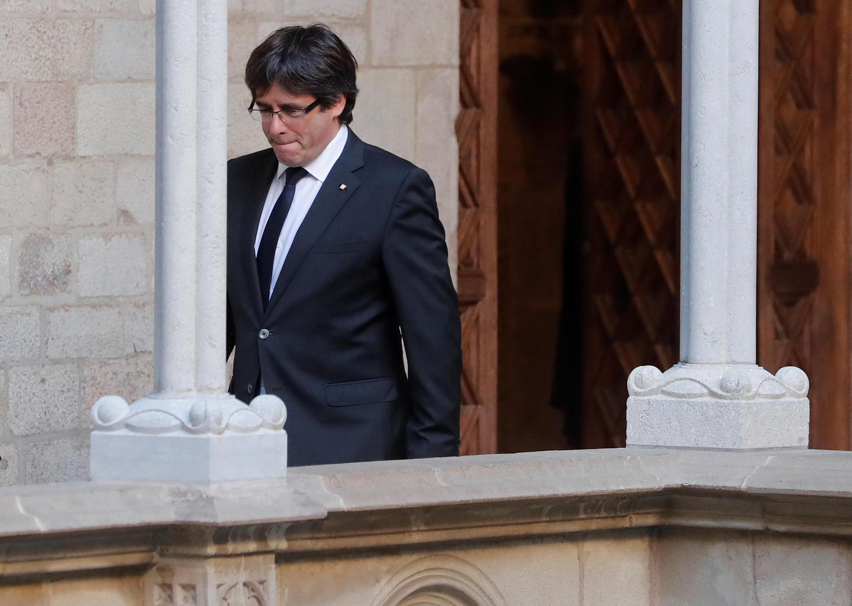Le président catalan destitué Carles Puigdemont est parti ce lundi pour Bruxelles sans préciser les raisons de ce voyage.