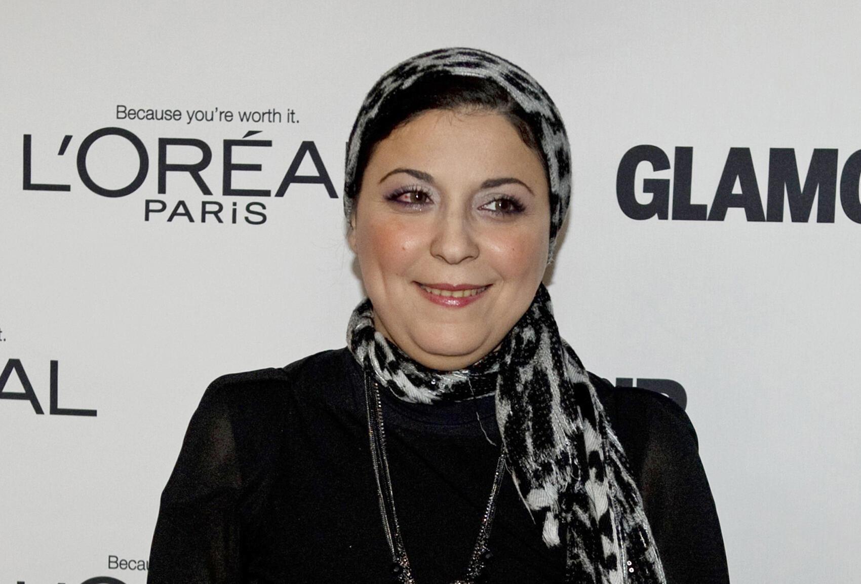 Egyptian activist and journalist Esraa Abdel-Fattah