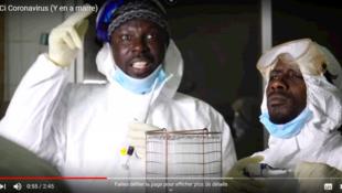 Capture d'écran du clip Fagaru Ci Coronavirus (Y en a marre)