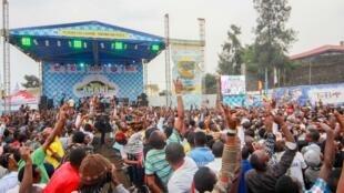 Le festival de musique Amani (« paix » en swahili) promeut la paix dans la région des Grands lacs.