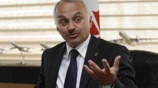 Temel Kotil, le directeur exécutif de Turkish Airlines, le 17 avril à Istanbul.