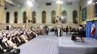 دیدار ائمه جماعت مساجد استان تهران با آیتالله خامنهای. یکشنبه ٣١ مرداد/ ٢۱ اوت ٢٠۱۶