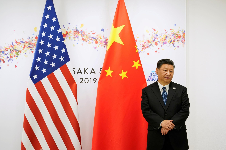 中國國家主席習近平六月29日在日本大阪等待與美國總統特朗普會談。