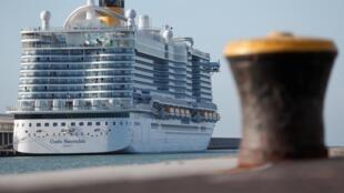 Лайнер Costa Smeralda завершал недельный круиз по западной части Средиземного моря