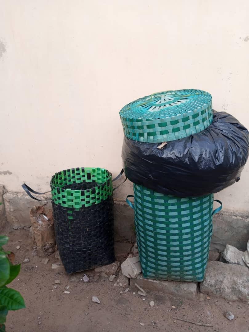 Poubelles à Lomé.