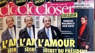 Julie Gayet processa revista que divulgou alegada relação com François Hollande