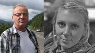 Датчанин Поль Тистед и американка Джессика Бьюкенен - заложники, освобожденные спецназом США в Сомали 25/01/2012