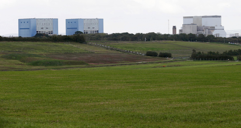 Les réacteurs A et B de la centrale nucléaire d'Hinkley Point, en 2013.