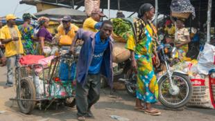 Le marché Dantokpa de Cotonou.