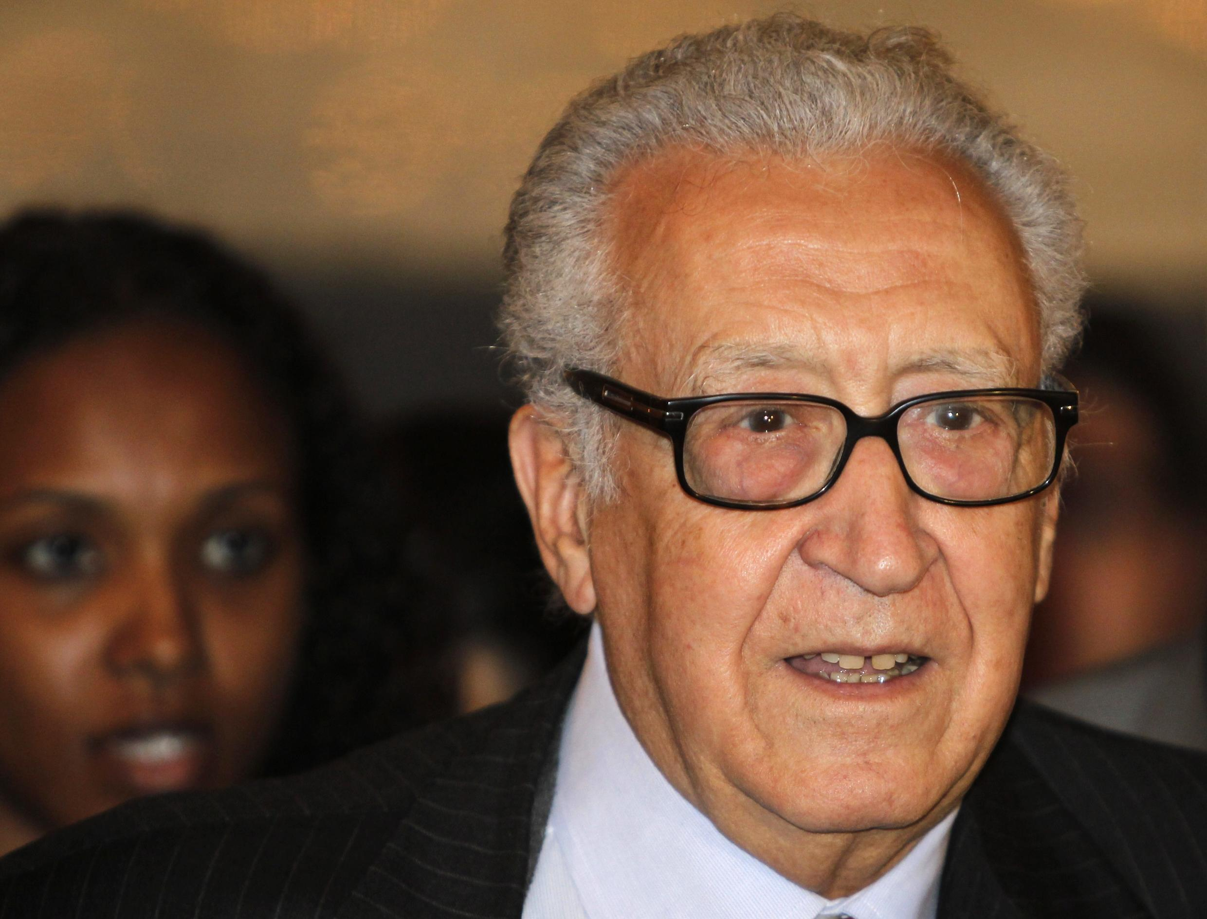Lakhdar Brahimi has called for a transitional government to be formed in Syria.