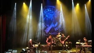 Procol Harum play to a full house at Le Trianon, Paris, 12 November 2017, the last stop on their 50th anniversary European tour
