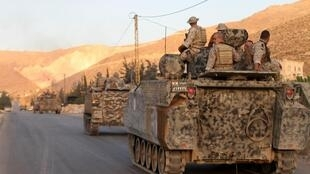 The Lebanese army going to fight Al-Nusra last year