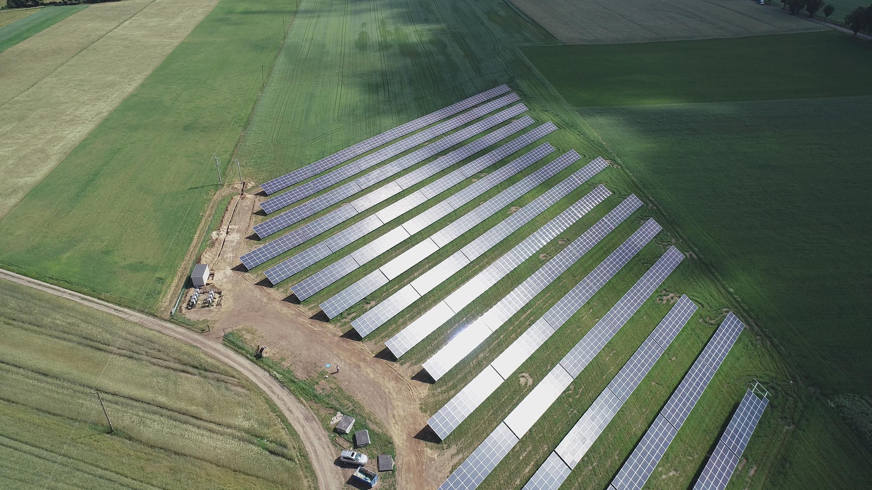 Parque solar de Sun Investment Group, en Gralewo, Polonia.