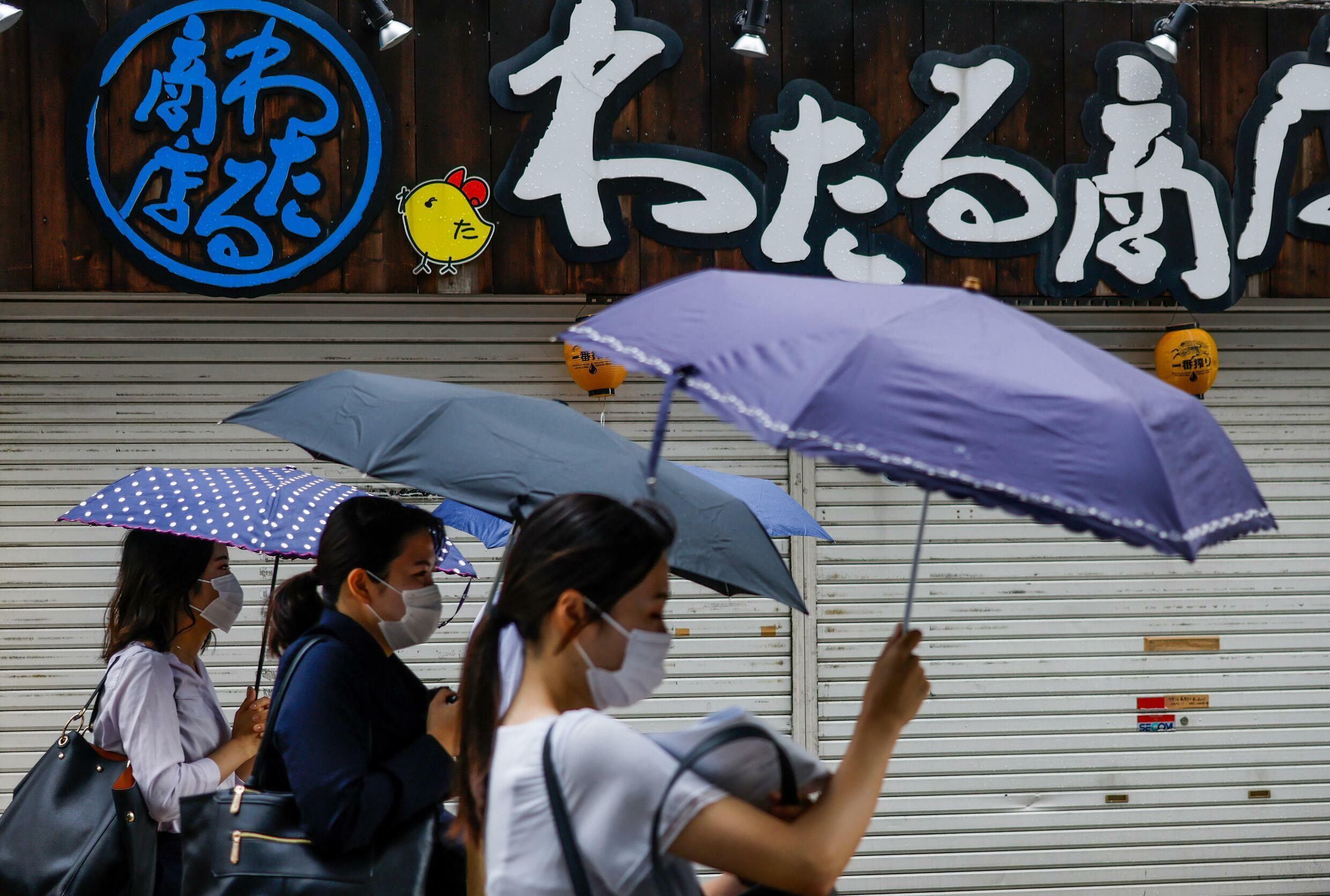 Scientists say climate change is intensifying the risk of heavy rain in Japan
