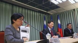 台湾外交部领事事务局副局长蔡幼文资料图片