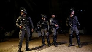 Policier israéliens lod