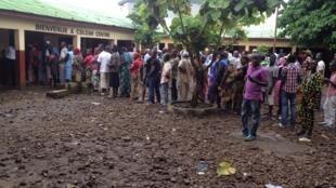 Elections législatives en Guinée.