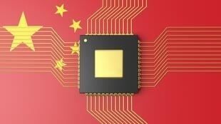 中国研制芯片报道图片