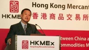 香港商交所主席张震远