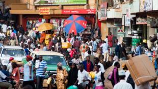Kyagwe Road, à Kampala.