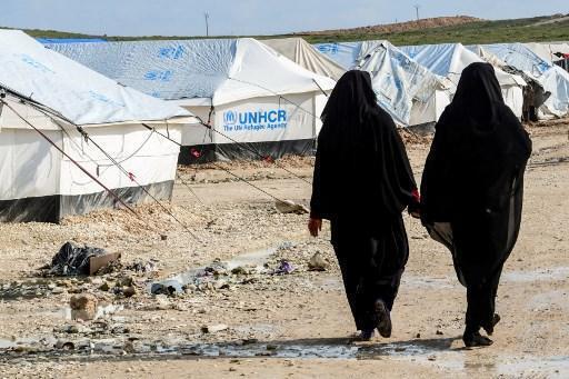 Лагерь Аль-Хол на северо-востоке Сирии. Март 2019 года.