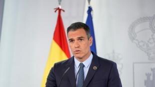 Le Premier ministre espagnol Pedro Sanchez, le 25 août 2020 à Madrid.