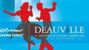 Ảnh tư liệu: Bích chương giới thiệu Liên Hoan Phim Mỹ tại Deauville (Pháp) năm 2017.