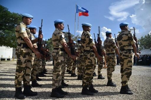 La Minujusth a été déployée en Haïti en octobre 2017.